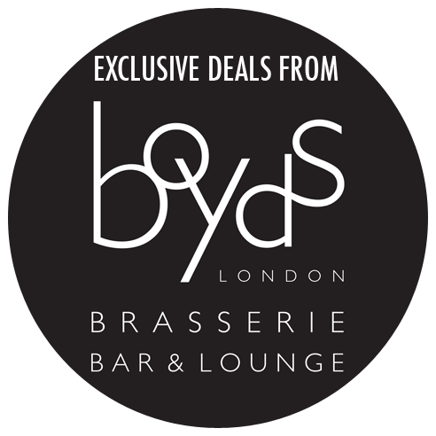 Exclusive deals from Boyds Brasserie